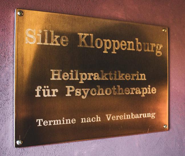 Türschild Silke Kloppenburg